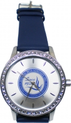 View Buying Options For The Zeta Phi Beta Sorority Symbol Leather Band Watch
