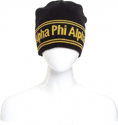 View Buying Options For The Alpha Phi Alpha Fraternity Reversible Mens Beanie