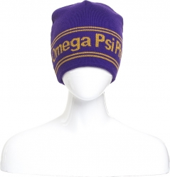 View Buying Options For The Omega Psi Phi Fraternity Reversible Mens Beanie