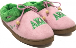 View Buying Options For The Alpha Kappa Alpha Ladies Cozy Slippers