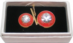 View Buying Options For The Kappa Alpha Psi Diamond Cut Signet Stone Lapel Pin and Tie Tac Set