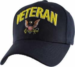 View Buying Options For The Navy Logo Veteran Extreme Embroidery Stretch Fit Mens Cap