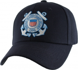 View Buying Options For The U.S. Coast Guard Logo Extreme Embroidery Stretch Fit Mens Cap