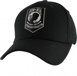 View Buying Options For The POW MIA Logo Extreme Embroidery Stretch Fit Mens Cap