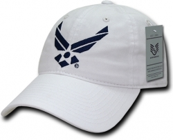 View Buying Options For The RapDom Air Force Wings Logo Relaxed Cotton Mens Cap