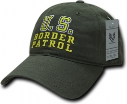 View Buying Options For The RapDom U.S. Border Patrol Relaxed Cotton Mens Cap