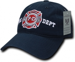 View Buying Options For The RapDom Fire Dept Relaxed Cotton Mens Cap