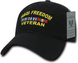 View Buying Options For The RapDom Iraqi Freedom Veteran Relaxed Cotton Mens Cap