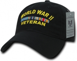 View Buying Options For The RapDom World War II Veteran Relaxed Cotton Mens Cap
