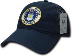 View Buying Options For The RapDom Air Force Round Logo Relaxed Trucker Mens Cap