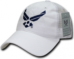 View Buying Options For The RapDom Air Force Wings Logo Relaxed Trucker Mens Cap