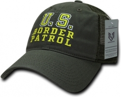 View Buying Options For The RapDom U.S. Border Patrol Relaxed Trucker Mens Cap