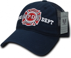 View Buying Options For The RapDom Fire Dept Relaxed Trucker Mens Cap