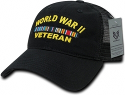 View Buying Options For The RapDom World War II Veteran Relaxed Trucker Mens Cap