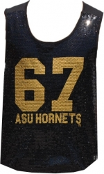 View Buying Options For The Alabama State Hornets Ladies Sequins Tank Top