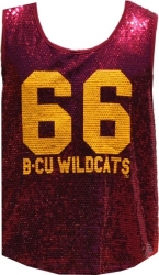 View Buying Options For The Bethune-Cookman Wildcats Ladies Sequins Tank Top