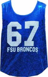 View Buying Options For The Fayetteville State Broncos Ladies Sequins Tank Top
