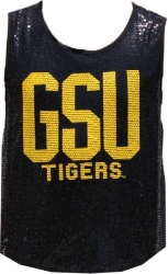 View Buying Options For The Grambling State Tigers Ladies Sequins Tank Top