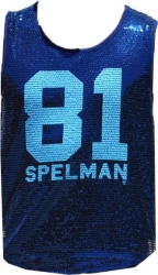 View Buying Options For The Spelman College Ladies Sequins Tank Top