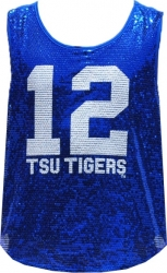 View Buying Options For The Tennessee State Tigers Ladies Sequins Tank Top