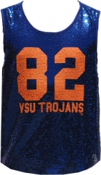 View Buying Options For The Virginia State Trojans Ladies Sequins Tank Top