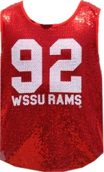 View Buying Options For The Winston Salem State Rams Ladies Sequins Tank Top
