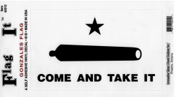 View Buying Options For The Gonzales Flag Come and Take It Car Decal Sticker [Pre-Pack]