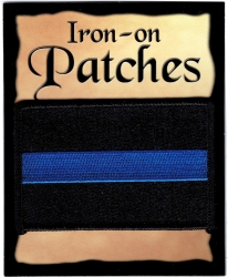 View Buying Options For The Thin Blue Line Flag Iron-On Patch [Pre-Pack]