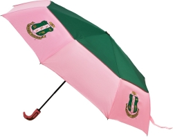 View Buying Options For The Alpha Kappa Alpha Auto Up/Down Air-Vent Jumbo Umbrella