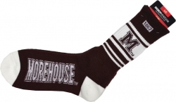 View Buying Options For The Big Boy Morehouse Maroon Tigers Mens Socks