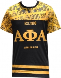View Buying Options For The Alpha Phi Alpha Divine 9 Mens Sublimation Jersey Tee