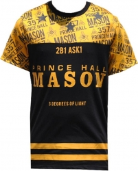 View Buying Options For The Prince Hall Mason Divine Mens Sublimation Jersey Tee
