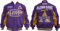 View Buying Options For The Alcorn State Braves S10 Mens Twill Jacket