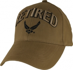 View Buying Options For The Retired w/Air Force Wings Logo Mens Cap
