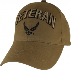 View Buying Options For The Veteran w/Air Force Wings Logo Mens Cap