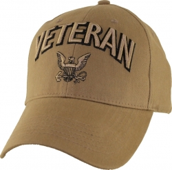 View Buying Options For The Veteran w/Navy Logo Mens Cap