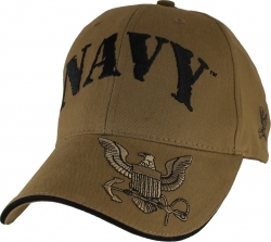 View Buying Options For The Navy w/Logo On Bill Logo Mens Cap