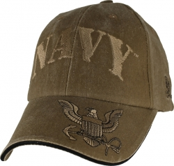 View Buying Options For The Navy w/Logo On Bill Logo Washed Mens Cap