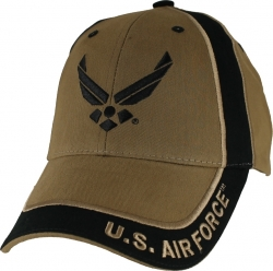 View Buying Options For The USAF Wings Two Tone Mens Cap