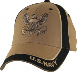 View Buying Options For The Navy Logo Two Tone Mens Cap