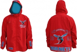 View Buying Options For The Delaware State Hornets S2 Mens Windbreaker Jacket