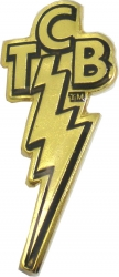 View Buying Options For The Elvis Presley TCB Logo Lapel Pin