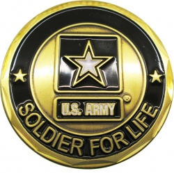View Buying Options For The Army Soldier for Life Challenge Coin
