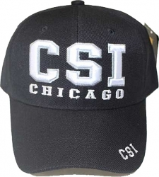 View Buying Options For The CSI Chicago Text Mens Cap