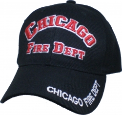 View Buying Options For The Chicago Fire Dept Logo Mens Cap