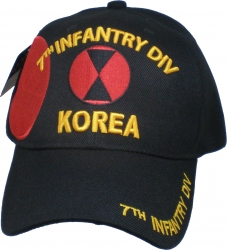 View Buying Options For The 7th Infantry Division Korea Shadow Mens Cap