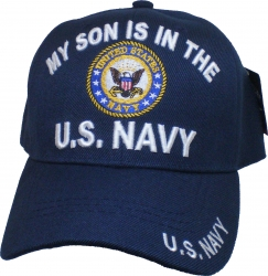 View Buying Options For The My Son Is in the U.S. Navy Mens Cap