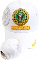 View Buying Options For The Army Retired Shadow Mens Cap