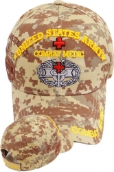 View Buying Options For The US Army Combat Medic Shadow Mens Cap