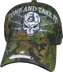 View Buying Options For The Come and Take It w/Snake and Cannon On Bill Mens Cap